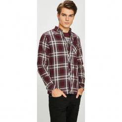 Tokyo Laundry - Koszula. Szare koszule męskie na spinki marki Tokyo Laundry, l, w kratkę, z tkaniny, button down, z długim rękawem. Za 99,90 zł.