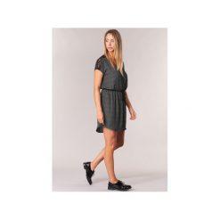 Sukienki krótkie Le Temps des Cerises  ORELIA. Czarne sukienki hiszpanki Le Temps Des Cerises, xl, z krótkim rękawem, mini. Za 247,20 zł.