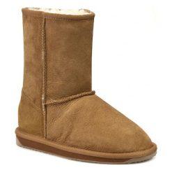Buty EMU AUSTRALIA - Stinger Lo W10002 Chestnut. Czarne buty zimowe damskie marki Kazar, ze skóry, na wysokim obcasie. Za 729,00 zł.