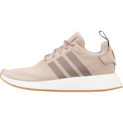 Adidas Originals NMD_R2 Tenisówki i Trampki trace khaki/simple brown/core black. Szare tenisówki damskie marki adidas Originals, z gumy. W wyprzedaży za 439,20 zł.