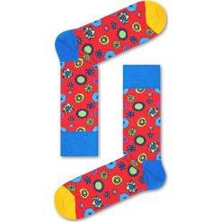 Happy Socks - Skarpety Flower Power. Różowe skarpetki męskie Happy Socks. Za 39,90 zł.