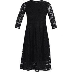 Dry Lake Sukienka koktajlowa black lace. Czarne sukienki koktajlowe marki Dry Lake, s, z materiału. W wyprzedaży za 463,20 zł.