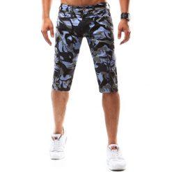 Spodenki męskie camo niebieskie (sx0531). Niebieskie odzież rowerowa męska marki Dstreet, na lato, z bawełny. Za 49,99 zł.