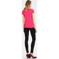 T-shirty damskie: Majestic Tshirt basic pink