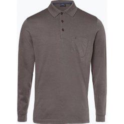 Ragman - Męska koszulka polo, beżowy. Brązowe koszulki polo Ragman, m, z bawełny. Za 229,95 zł.