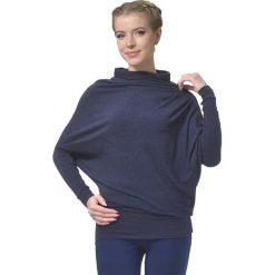 Sweter w kolorze granatowym. Niebieskie swetry klasyczne damskie marki Lada Lucci, xxs, ze stójką. W wyprzedaży za 229,95 zł.