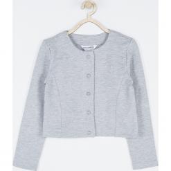 Bluza. Szare bluzy dziewczęce rozpinane UNICORN, z bawełny. Za 65,90 zł.