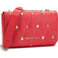 Torebka VERSACE JEANS - E1VSBBEB 70778 331. Czerwone torebki klasyczne damskie Versace Jeans, z jeansu. Za 699,00 zł.