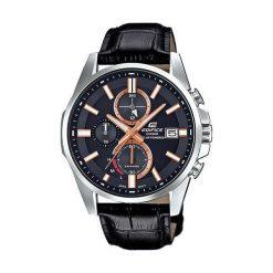 Biżuteria i zegarki męskie: Zegarek Casio Męski EFB-560SBL-1AV Edifice Chrono czarny