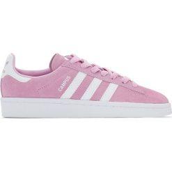 Tenisówki Campus J. Czerwone buty sportowe dziewczęce marki adidas Originals, z kauczuku. Za 229,28 zł.