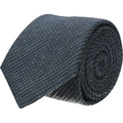Krawat cotton granatowy classic 206. Niebieskie krawaty męskie Recman, z bawełny, eleganckie. Za 59,00 zł.
