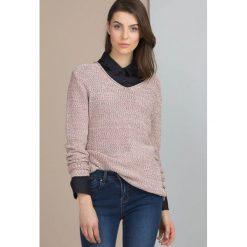 Swetry klasyczne damskie: Sweter melanż