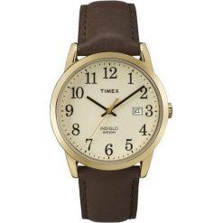 Zegarek Timex Męski TW2P75800 Easy Reader Indiglo brązowy. Brązowe zegarki męskie Timex. Za 246,99 zł.