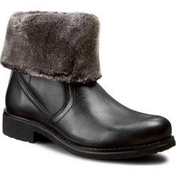Botki LASOCKI - WI16-KAREN-01 Czarny. Czarne buty zimowe damskie Lasocki, ze skóry. W wyprzedaży za 115,00 zł.