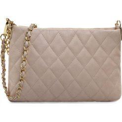 Torebka CREOLE - RBI10119 Jasny Beż Pik. Brązowe torebki klasyczne damskie Creole, ze skóry. W wyprzedaży za 159,00 zł.
