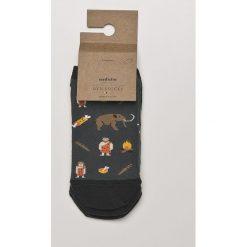 Medicine - Skarpety Desert Island (2-pack). Szare skarpetki męskie marki MEDICINE, z bawełny. W wyprzedaży za 15,90 zł.