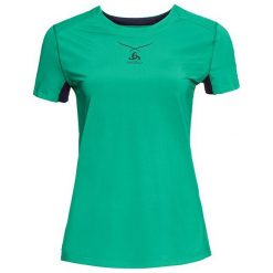 Odlo Koszulka tech. Odlo Ceramicool Shirt s/s crew neck - 160211 - 160211/40207/S. Niebieskie koszulki sportowe męskie marki Odlo, m. Za 219,21 zł.