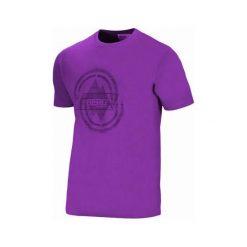 Topy sportowe damskie: BERG OUTDOOR Koszulka DENALI T-SHIRT Fioletowa r. S