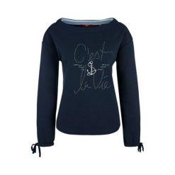 S.Oliver Bluza Damska 40 Niebieski. Niebieskie bluzy damskie marki S.Oliver, s. W wyprzedaży za 186,00 zł.