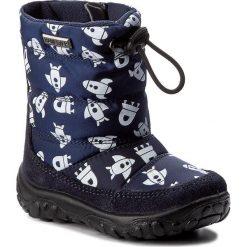 Buty zimowe chłopięce: Śniegowce NATURINO – Falcotto By Naturino 0013001202.05.9141 Bleu St. BIanco
