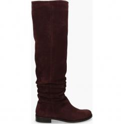 Kozaki bordowe Miranda. Czerwone buty zimowe damskie Badura. Za 471,99 zł.