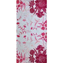 Kąpielówki męskie: Ręcznik w kolorze biało-różowym