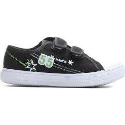 Czarne Trampki Want You To Know. Czarne buty sportowe chłopięce marki Born2be, na zamek. Za 24,99 zł.