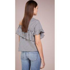IBlues CANNETI Bluzka schwarz. Czarne bluzki damskie iBlues, z bawełny. W wyprzedaży za 356,85 zł.