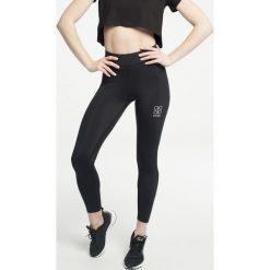 Gym Hero - Legginsy Black Flock. Czarne legginsy sportowe damskie Gym Hero, l, z dzianiny. Za 159,90 zł.