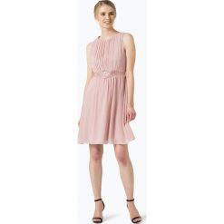 Marie Lund - Damska sukienka koktajlowa, różowy. Czerwone sukienki na komunię Marie Lund, z haftami, z szyfonu. Za 349,95 zł.