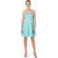 Suddenly Princess - Damska sukienka koktajlowa, niebieski. Czarne sukienki koronkowe marki Orsay, xs, z dekoltem na plecach. Za 399,95 zł.