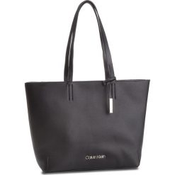 Torebka CALVIN KLEIN - Stitch Ew Shopper K60K604844 001. Czarne shopper bag damskie Calvin Klein, ze skóry ekologicznej, duże. Za 599,00 zł.