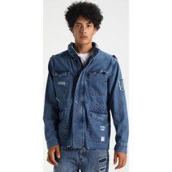 Kurtki męskie bomber: Cayler & Sons ARMY Kurtka jeansowa mid blue