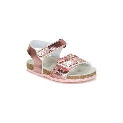 Sandały Dziecko  Chicco  HALBA. Czerwone sandały dziewczęce marki Chicco. Za 175,20 zł.