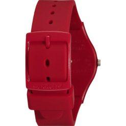 Biżuteria i zegarki męskie: Swatch PUNTAROSSA Zegarek red