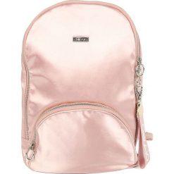 Torebki i plecaki damskie: Plecak w kolorze jasnoróżowym – 25 x 34 x 8 cm