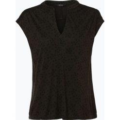 Opus - T-Shirt damski – Sandi flower, zielony. Zielone t-shirty damskie Opus, z nadrukiem. Za 159,95 zł.