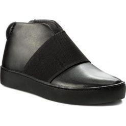 Botki VAGABOND - Zoe 4526-001-92 Black/Black. Czarne buty zimowe damskie marki Vagabond, z materiału. W wyprzedaży za 289,00 zł.