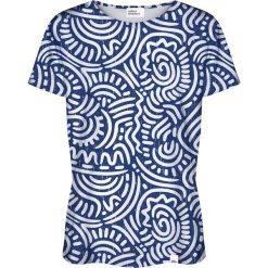 Colour Pleasure Koszulka damska CP-030 186 biało-niebieska r. XS/S. T-shirty damskie Colour pleasure, s. Za 70,35 zł.