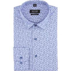 Koszula versone 2837 długi rękaw custom fit niebieski. Niebieskie koszule męskie Recman, m, z długim rękawem. Za 149,00 zł.