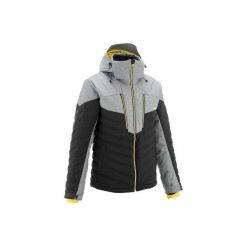 c28c651c97a15 Kurtka narciarska SKI-P JKT 900 WARM męska. Czarne kurtki męskie WED'ZE
