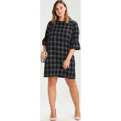 Sukienki hiszpanki: Elvi CHECK FRILL DRESS  Sukienka letnia black