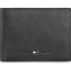 Duży Portfel Męski TOMMY HILFIGER - Johnson Cc And Coin Pocket AM0AM82565/AM0AM00659 Black 002. Czarne portfele męskie marki TOMMY HILFIGER, ze skóry. Za 299,00 zł.