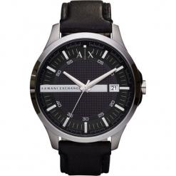 Armani Exchange - Zegarek AX2101. Czarne zegarki męskie marki Armani Exchange, l, z materiału, z kapturem. Za 699,90 zł.