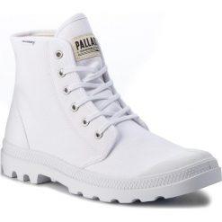 Trapery PALLADIUM - Pampa Hi Originale 75349-101-M White/White. Białe botki męskie Palladium, z materiału. W wyprzedaży za 269,00 zł.