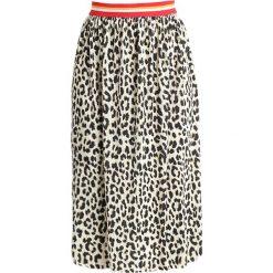 Spódniczki plisowane damskie: Rich & Royal PLISSEE SKIRT Spódnica trapezowa black