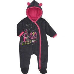 Śpiochy niemowlęce: Śpioszki w kolorze czarnym