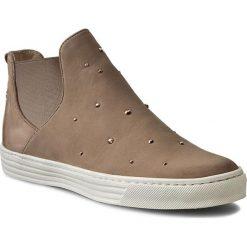 Sztyblety CARINII - O3259  Samuel 1365. Brązowe buty zimowe damskie Carinii, z materiału. W wyprzedaży za 209,00 zł.