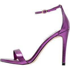 Sandały damskie: Steve Madden STECY Sandały na obcasie purple metallic