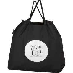 Torba składana Never Give Up. Czarne shopper bag damskie Healthy Plan by Ann. Za 99,00 zł.